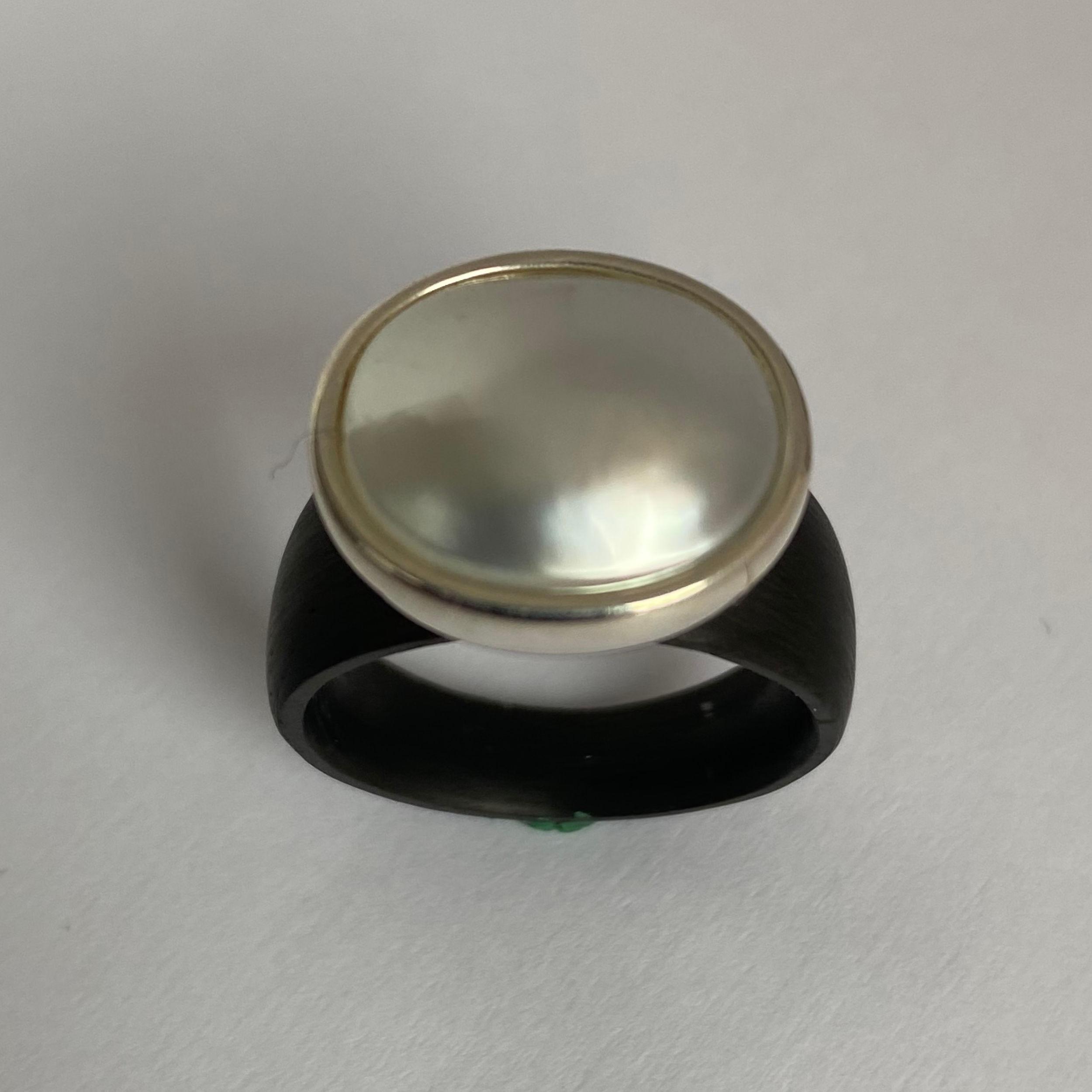 C-01 – MOP Perle 925 Silber