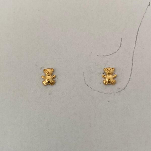 O-02 Bärchen 750 Gold